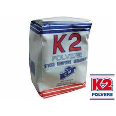 Stucco in Polvere K2 1 Kg Riempitivo per Interni colore Bianco