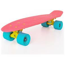 Strawberry Pink S01bm0020 Skateboard Di Plastica Completo - Componenti Di Alta Qualità