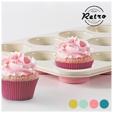 Stampo Per Cupcake Retro Azzurro
