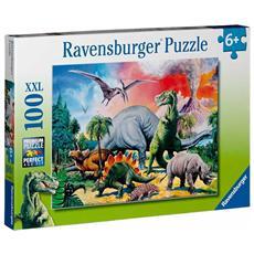 Puzzle Dinosauri 100 pz 49 x 36 cm 10957