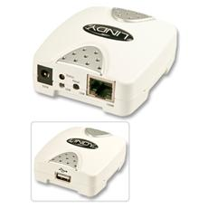 Print Server USB, LAN 10/100Base-TX