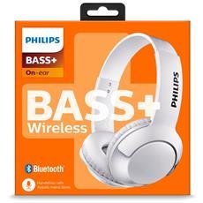 SHB3075WT / 00 Padiglione auricolare Stereofonico Bluetooth Bianco auricolare per telefono cellulare