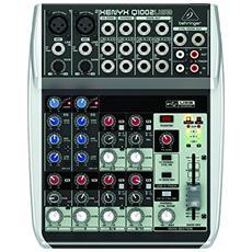 Mixer Analogico Con Entrata Usb Xenyx Q1002usb