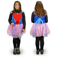 538148 Costume Di Carnevale Travestimento Ballerina Da Bambina Da 3 A 12 Anni - 6/8 Anni