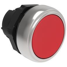 Lpcb104 Pulsante Plast. Ras. Rosso