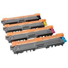 Toner per selezionare la stampante Brother TN241BK / C / M / Y, Cartuccia, Nero, Ciano, Magenta, Giallo, Laser, Brother, DCP-9015 CDW, DCP-9020 CDW, HL-3140 CW, HL-3150 CDW, HL-3170 CDW, MFC-9140 CDN, MFC-9330 CDW, MFC-93, TN241BK / C / M / Y