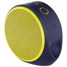 X100 Altoparlante Mobile Speaker Portatile per Smartphone Bluetooth - Giallo