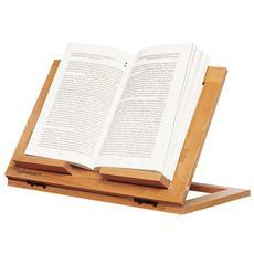 Leggio Regolabile e Pieghevole - Modello Reading Naturale