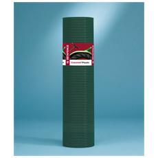 Rete Elettrosaldata Zincata e Rivestita per Fondi Gabbie Plasticata Verde 12.7 x 12.7 mm 50745