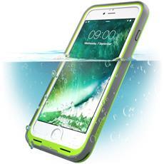 Custodia Impermeabile Iphone 7 Plus, [ Waterproof ] Cover Antiurto + Protezione Dello Schermo Per Apple Iphone 7 Plus - (Verde / Grigio)