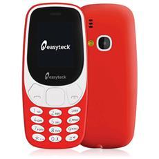 B310 Colore Rosso Dual Sim Bluetooth Fotocamera Radio Torcia Organizer
