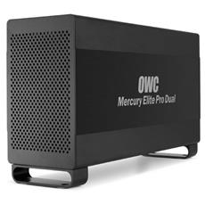 "Box Hard Disk Mercury Elite Pro Dual 3.5"" SATA con Interfaccia USB 3.0"