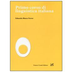 Primo corso di linguistica italiana