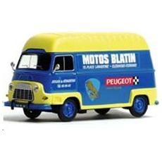 101247 Renault Estafette Motos Blatin 1/43 Modellino