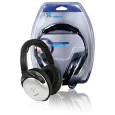 Cuffie Hi-Fi ad Archetto colore Nero / Silver
