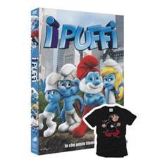 Dvd Puffi (i) +t-shirt Gargamella Nero5/6