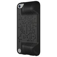 Mac TuffWrap Play Custodia in gomma nera con impugnature per iPod Touch 5