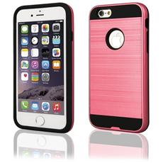 Cover Motomo In Gomma E Plastica Per Iphone 6 & 6s Alta Qualità Colore Rosa & Nero