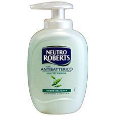 Sapone Liquido Antibatterico 300 Ml. Saponi E Cosmetici
