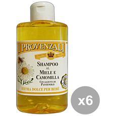 I PROVENZALI - Set 6 Shampoo Miele-camomilla Bebe  250 Ml. Prodotti Per C 2e2e1afb60b9
