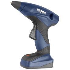 FERM - Pistola Colla A Caldo Senza Fili 7,2 V 1,5 A Li-ion Ggm1003