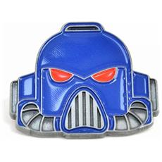 Warhammer - Space Marine Helmet (badge Smaltato)