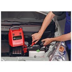 Caricabatteria 12 Ampere per Batterie 12 V Colore Rosso