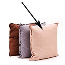 Cuscino per dondoli e sedie cm 45x45 colore beige da esterno