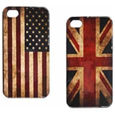 Cover Compatibile Per Iphone 5 Uk / usa Itotal