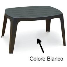 Tavolino da Giardino Colore Bianco - Modello Kai
