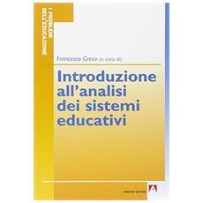 Introduzione all'analisi dei sistemi educativi
