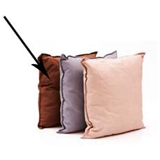 Cuscino per dondoli e sedie cm 45x45 marrone da esterno