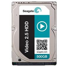 """Hard Disk Interno Video 500 GB 2.5"""" Sata II 3 GB / s Buffer 16 MB 5400 Rpm"""