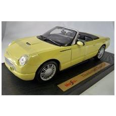 50335 Ford Thunderbird Cabrio Yellow 1/18 Modellino