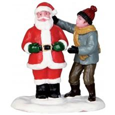 Pupazzo Di Neve Babbo Natale - Front Yard Santa