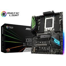 X399 SLI Plus, AMD X399 Mainboard - Sockel TR4
