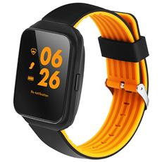 "Smartwatch Z40 Display 1.54"" con Cardiofrequenzimetro Bluetooth Arancione– Europa"