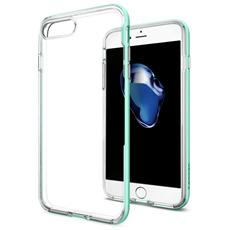 Cover in TPU per iPhone 7 Plus Colore Verde Menta