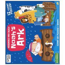 Noah's ark. Assemble and build. Libro puzzle