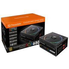 Alimentatore Toughpower Grand RGB 650 Watt ATX Modulare Certificazione 80 Plus Gold Colore Nero