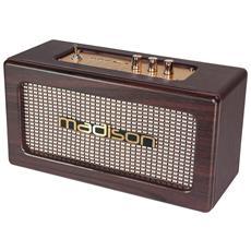 "Speaker """"vintage"""" Autonomo Con Usb / Bluetooth 2x10w - Madison Freesound-vintage-wd"