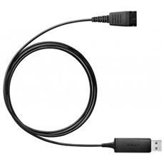 Cavo Adattatore USB per Telefono Fisso Nera 230-09