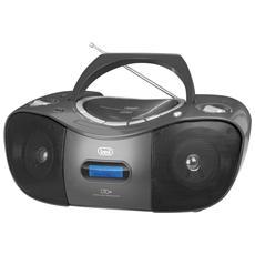 Stereo Portatile Cd Radio Dab Cmp 582 Dab Nero