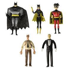 The New Batman Adventures Bendable Figures 5 Pack Heroes 14 Cm