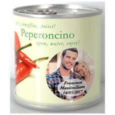 Bomboniere Matrimonio Naturali Personalizzate Peperoncino Fiori In Lattina Macflowers
