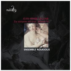 Leclair, J. m. - Six Sonates En Trio