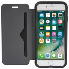 Flip Cover Custodia per iPhone 8 / 7 Colore Nero