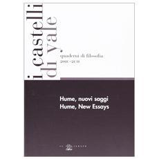 Hume, nuovi saggi. Ediz. italiana e inglese