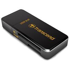 RDF5, microSD (TransFlash) , microSDHC, microSDXC, SD, SDHC, SDXC, USB 3.0, 0 - 70 °C, Nero, 18g, Bolla