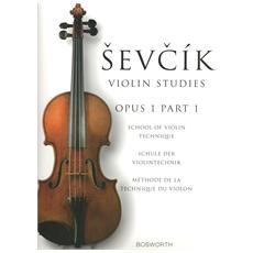 Sevcik Violin Studies - Op. 1 P. 1 Scuola Di Tecnica